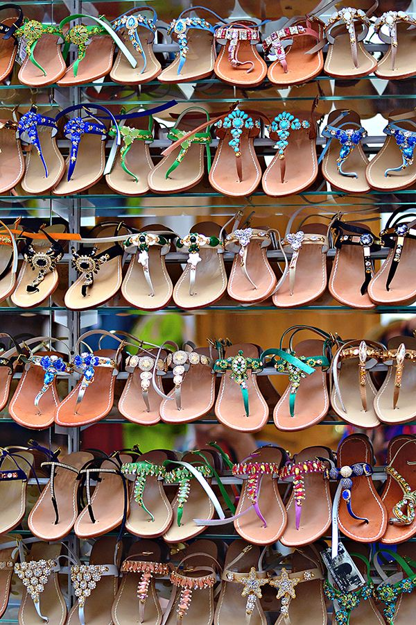 History In High Heels: 10 Things You Must Do in Positano, near Naples: Buy Custom Leather Sandals Hand-crafted sandals are an Amalfi Coast specialty. I think you get the most for your money in Positano. But the hardest part is picking just one pair!