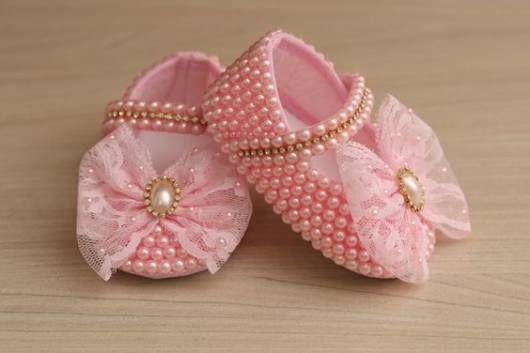 sapatinho rosa