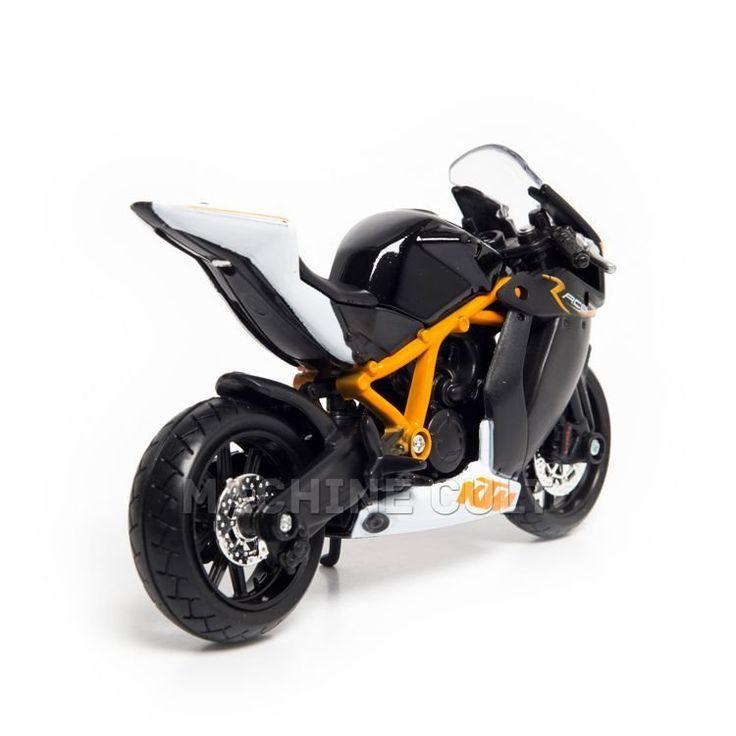 Miniatura KTM 1190 RC8 R - Burago 1:18 - Machine Cult   Loja online especializada em camisetas, miniaturas, quadros, placas e decoração temática de carros, motos e bikes