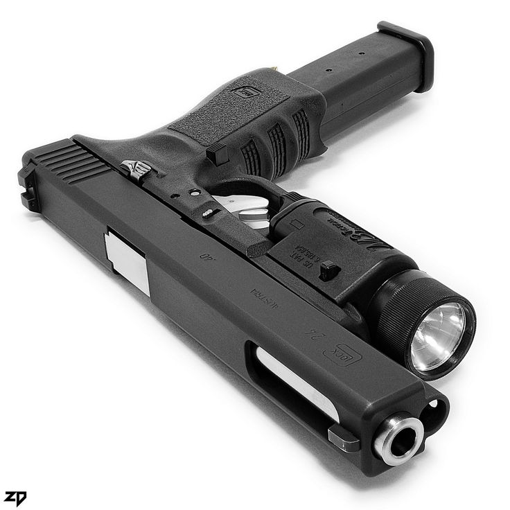 Glock 24 Pistol in .40 cal extended clip