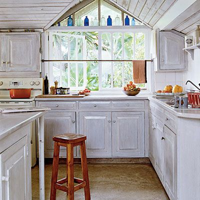 wood kitchen cabinets » pickled wood kitchen cabinets - inspiring