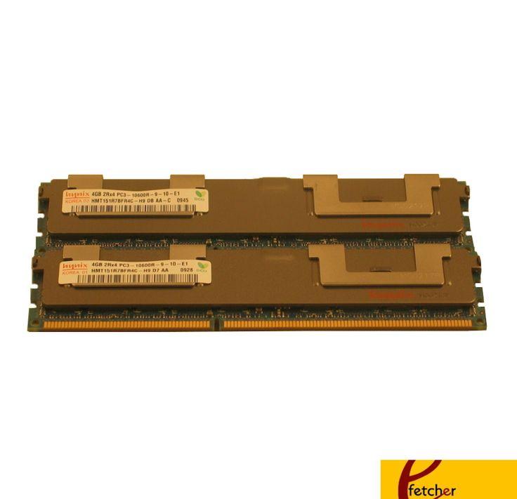 8GB (2 x 4GB) DDR3 ECC REG. MEMORY FOR DELL PRECISION WORKSTATION T5500 T7500