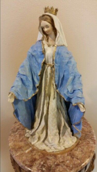 """""""Virgen"""" ..Arte del encolado o quiteño"""