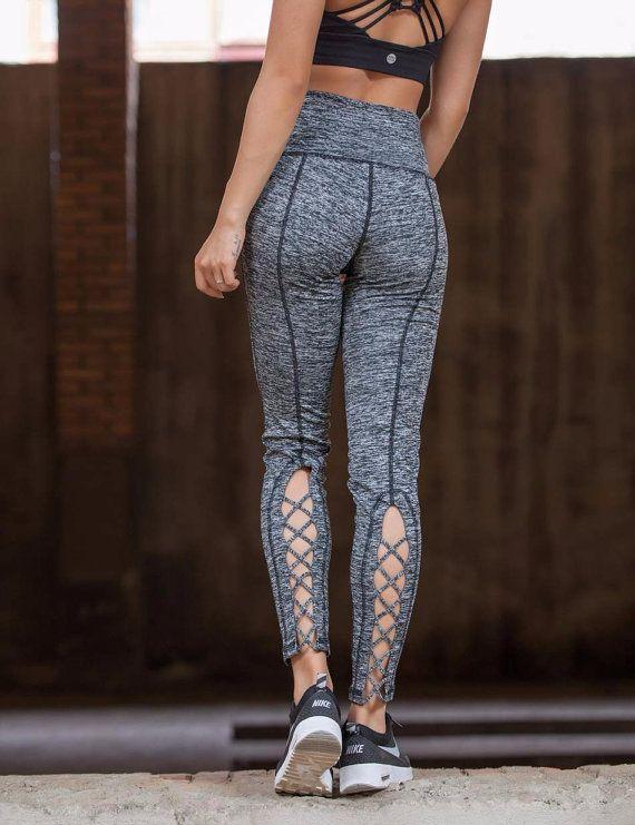 Workout Pants Sportswear Yoga Leggings by SofiaCohenJewelry