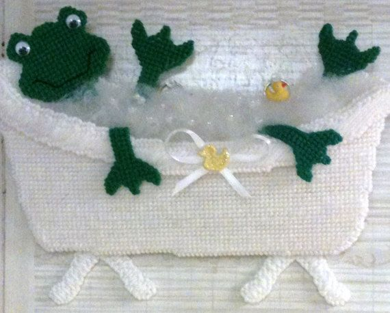 Hey, I found this really awesome Etsy listing at https://www.etsy.com/listing/125537605/frog-bathroom-decoration-wall-hanging