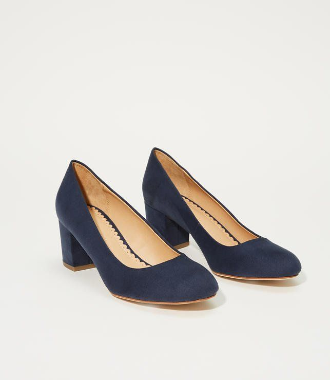 72d70e59bd5c We love these easy to walk in block heel pumps