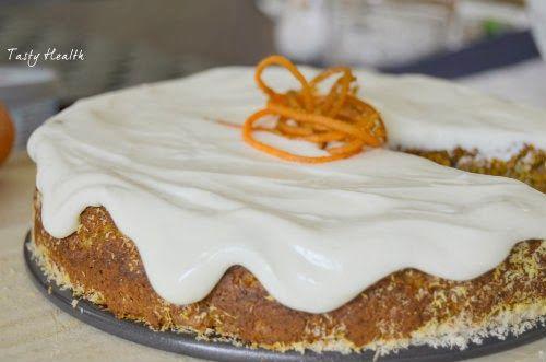 Tasty Health: Paleo-inspirerad morotskaka med cream cheese frosting