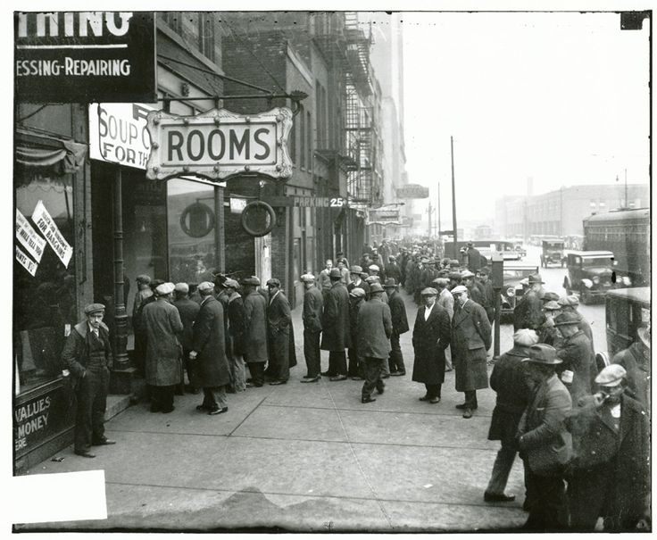 Capones free lunch restaurant chicago 1930 credit to
