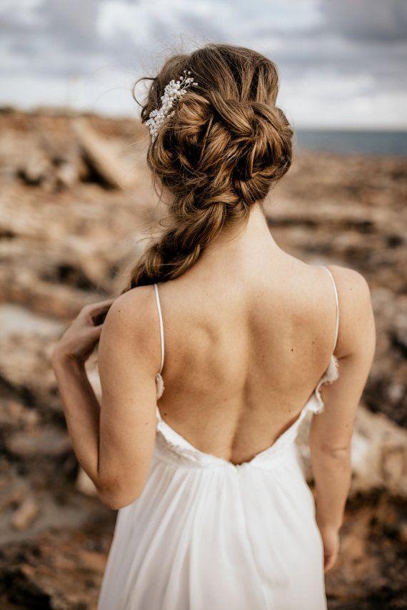 Brautschmuck haare blumen perlen  100 besten Mode: Für die Braut Bilder auf Pinterest | Wedding ...