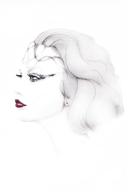 KARLIE KLOSS PORTRAIT BY ME. http://geraldinelablondine2.blogspot.fr/