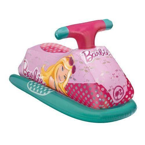 Jet Ski Glamouroso Inflável Barbie - Fun