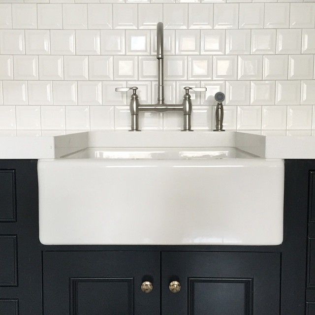 Kitchen Tiles Square: Kitchen Farmhouse Sink With