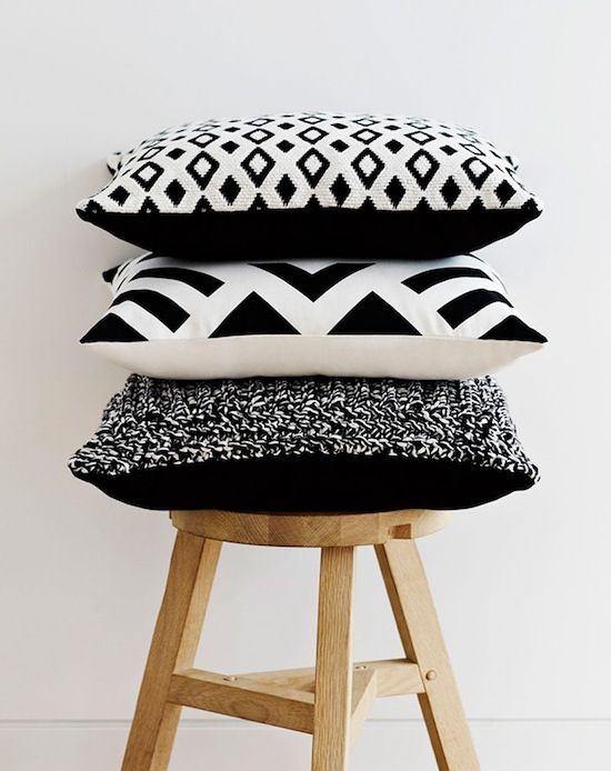 You can change them with the seasons, prop them up wherever you like - cushions can do no wrong, in our eyes
