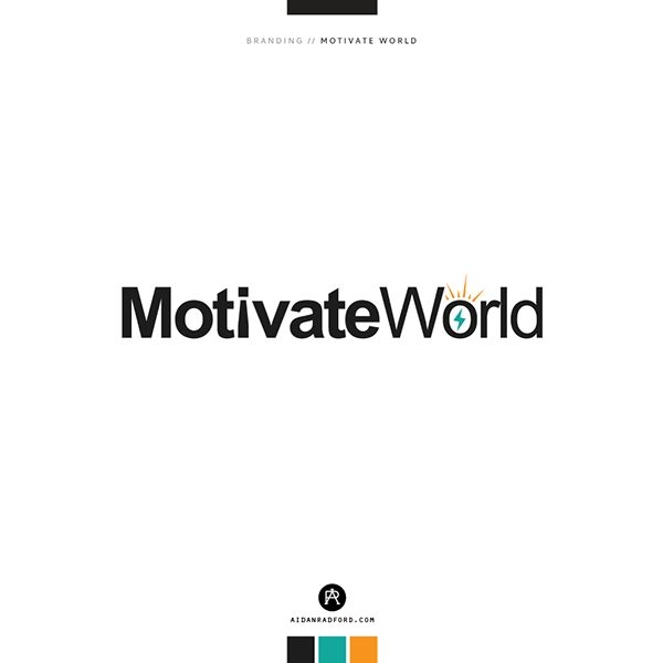 Motivate World on Behance http://be.net/aidanradford/