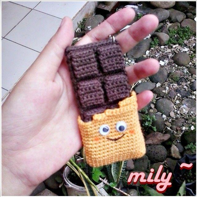 smile.. #cocholate #amigurumidoll #amigurumi #smile #craft #crochet #knit