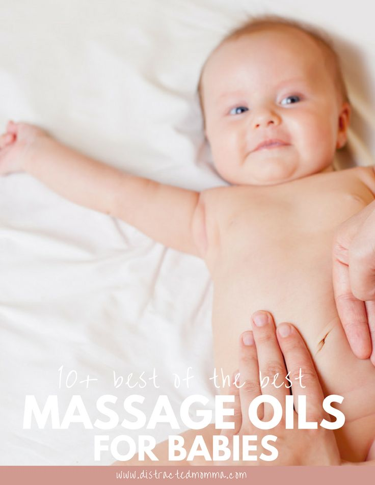 Uncover the best massage oil for babies available online!