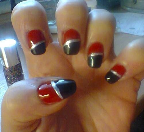 červeno černé nehty - Hledat Googlem