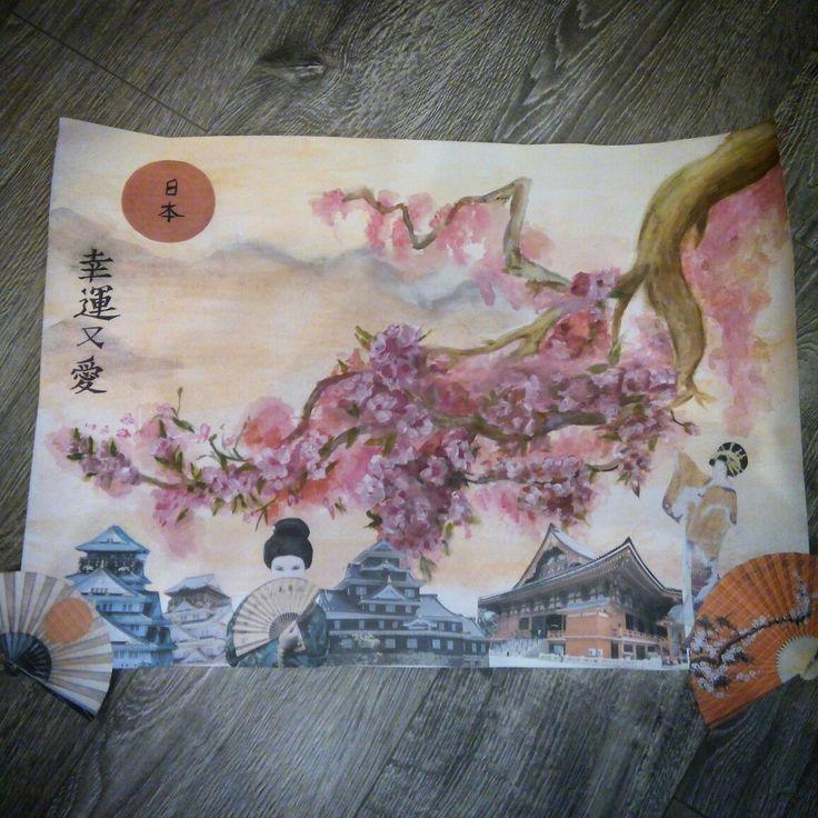 Коллаж Япония