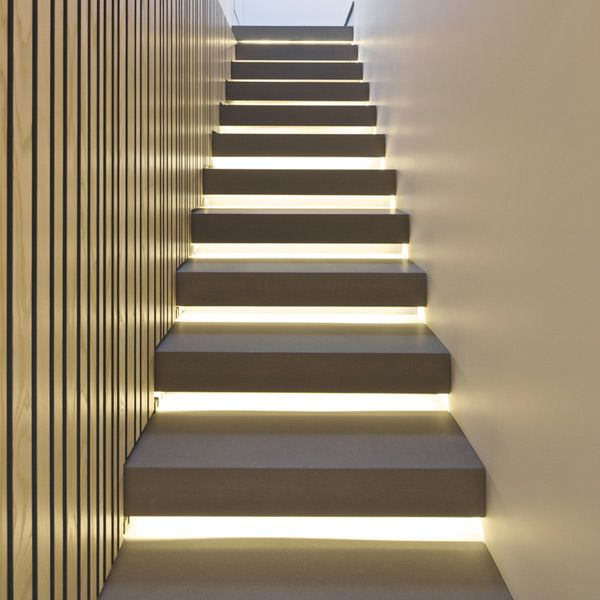 staircase inside the Maida Vale private house in Greece by K- Studio architecture.