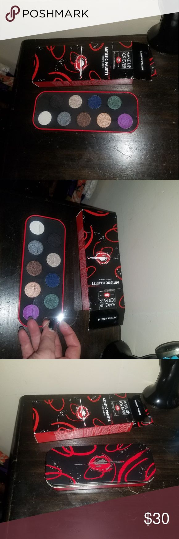 Make Up For Ever Artistic Palette 9 Artist Shad Limited