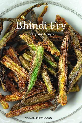 Bhindi fry. #antoskitchen #bhindi #fry