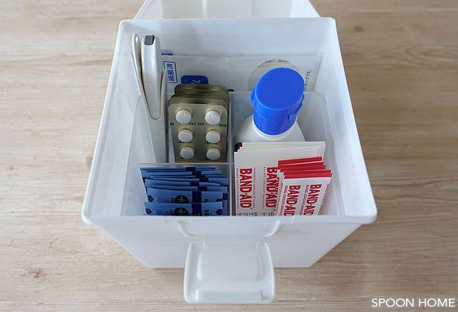 セリアのタフボックスcdの収納アイデアのブログ画像 収納 アイデア グッズ 収納 収納