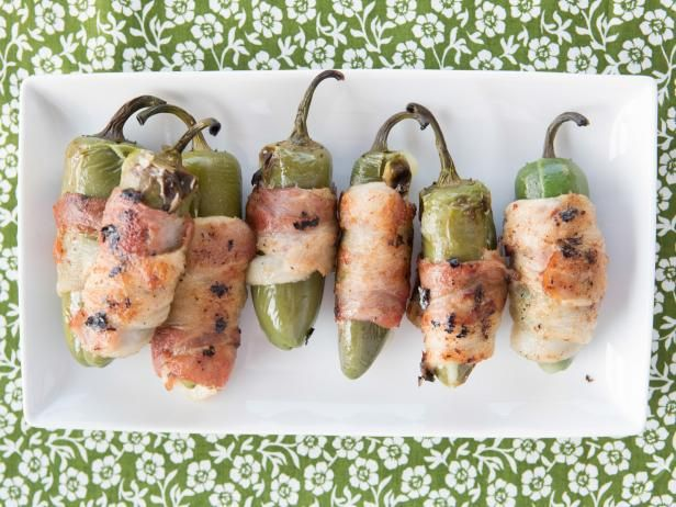 Get Grilled Stuffed Jalapeno Chiles Recipe from Food Network
