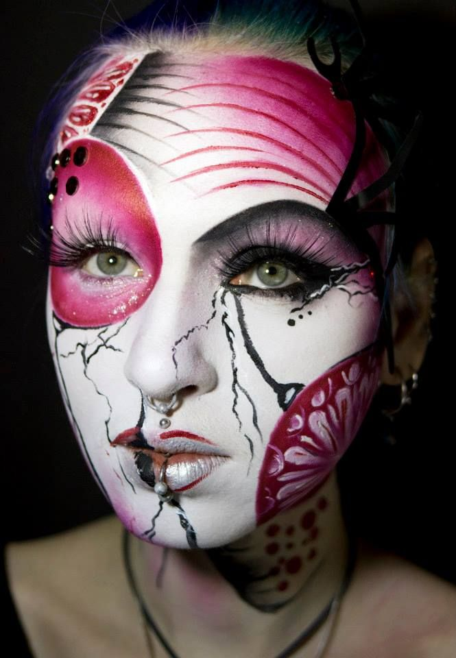 Awesome Makeup Tutorials: 122 Best Face Paint Images On Pinterest