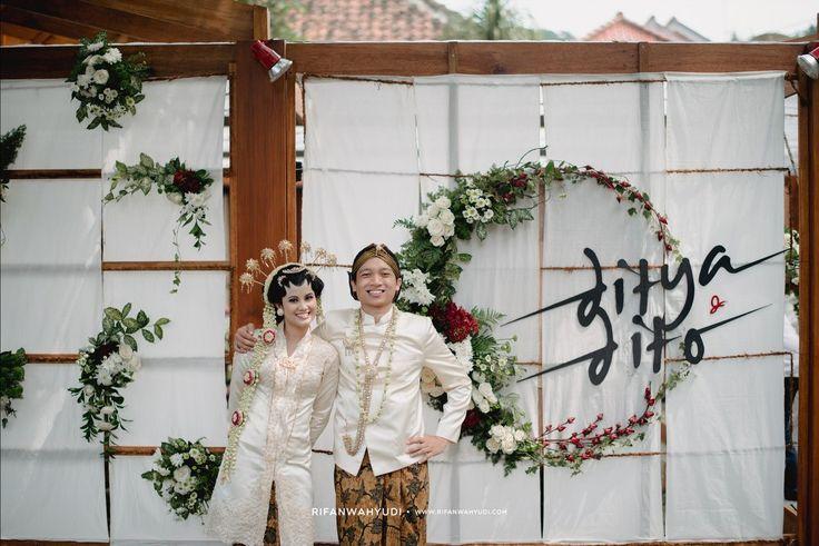Pernikahan Di Rumah Ebbo Ala Ditya Dan Dito - Ditya x Dito 0053
