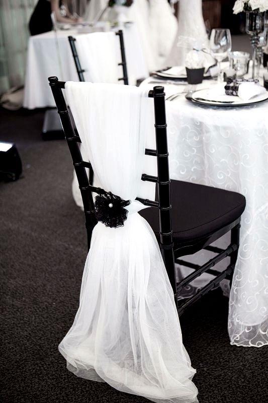 Black U0026 White Wedding Decoration.