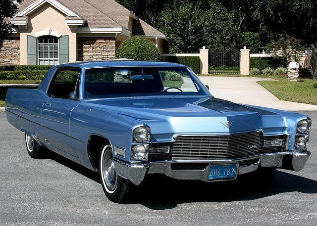 1968 Cadillac Calais Coupe Cadillac Classic Cars Pinterest