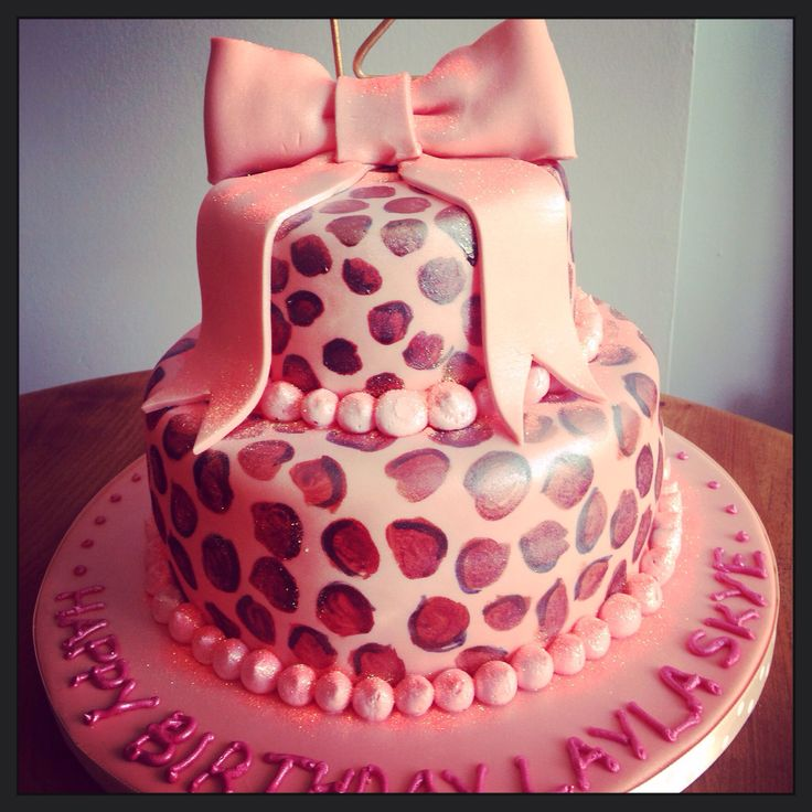 9 Best 30th Leopard Print Birthday Cakes Images On Pinterest Cakes