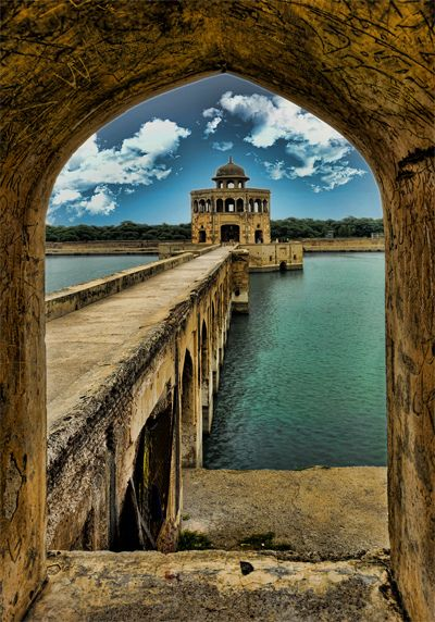 Hiran Minaar near Lahore in Sheikhupura, Pakistan.  by Muhammad Adnan