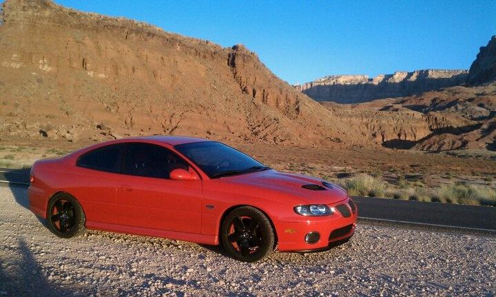 2005 GTO in Northern Arizona