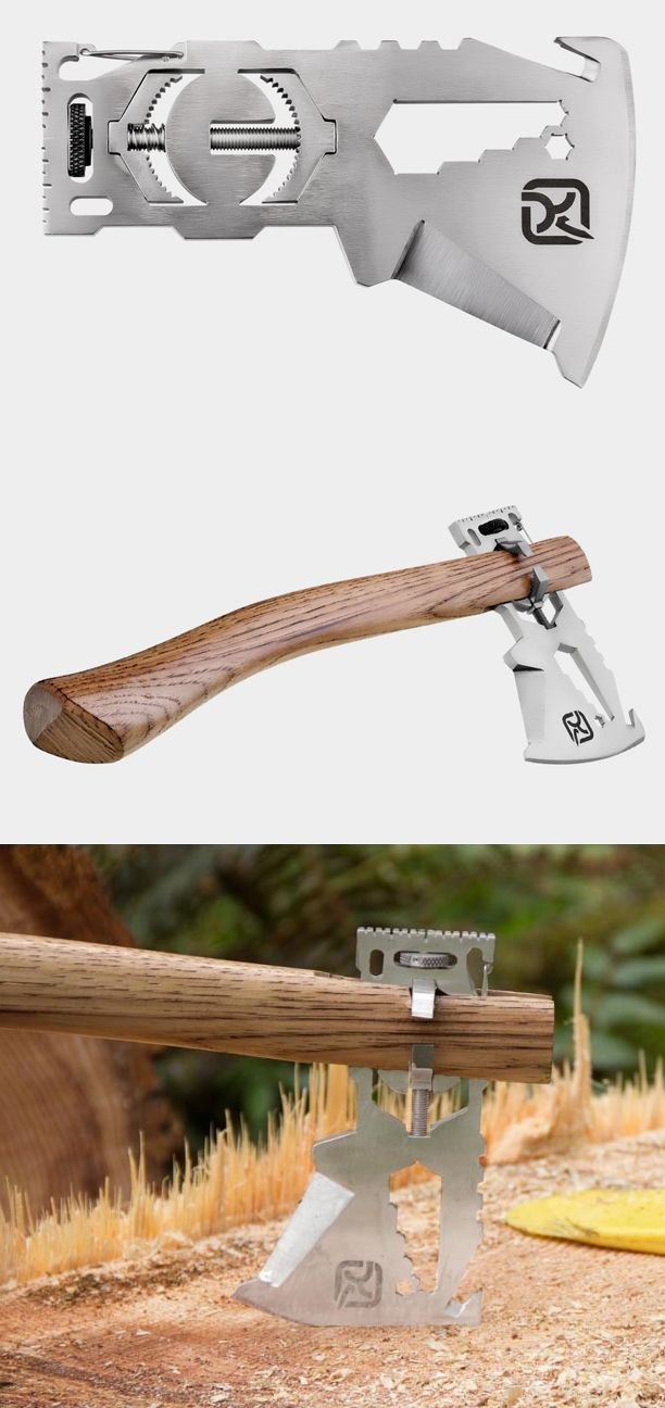 Cool multi-tool that turns into an axe