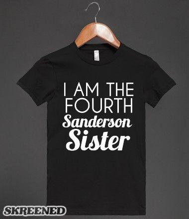 OMG  YAAAAASSSS!!!!hocus pocus sanderson sister | Hocus Pocus Sanderson Sisters T-Shirt #Skreened
