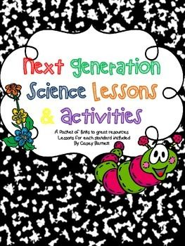 Lesson plans, activities and resources for the Next Generation Science Standards for 4th Grade!