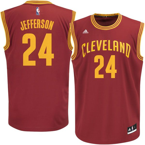 Richard Jefferson Cleveland Cavaliers adidas Replica Jersey - Wine - $55.99