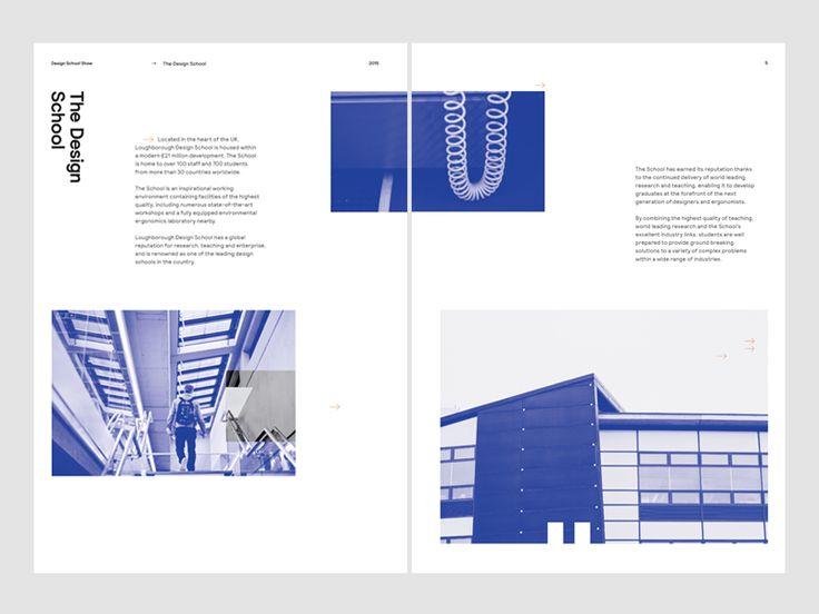 Loughborough University Page Spread
