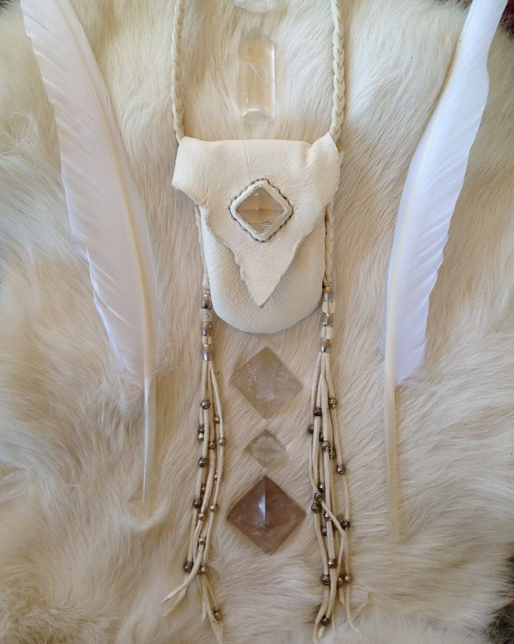 <<< Miakoda Medicine >>> medicine pouch by Three Arrows Leather
