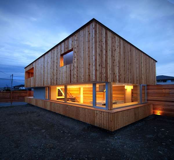 The Wakakusa House in Minami-Alps City, Japan — designed by architects Masaaki Okuno