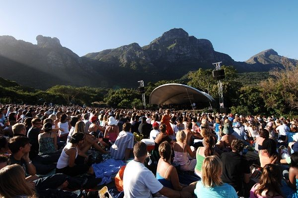 Picknick with a view @ Kirstenbosch Summer Concerts, Cape Town