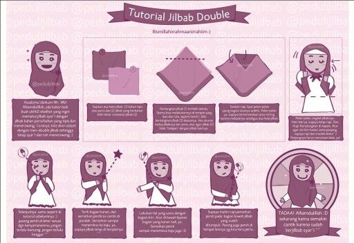 Mohajabbah muslimah hijab anime