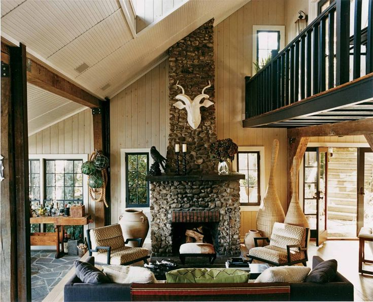 Find This Pin And More On Old Lake House Interiors By Polygrinder.