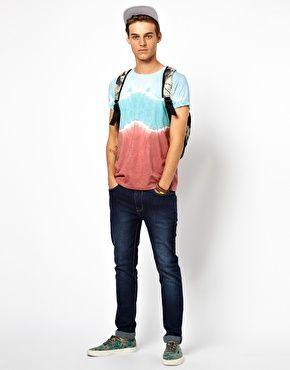 ASOS Dip Dye Tee | Men's Fashion