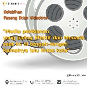 Keuntungan dan Kelebihan Pasang iklan di VIDEOTRON / LED Tron  Jasa Pembuatan Video Iklan Ririsaci Studio