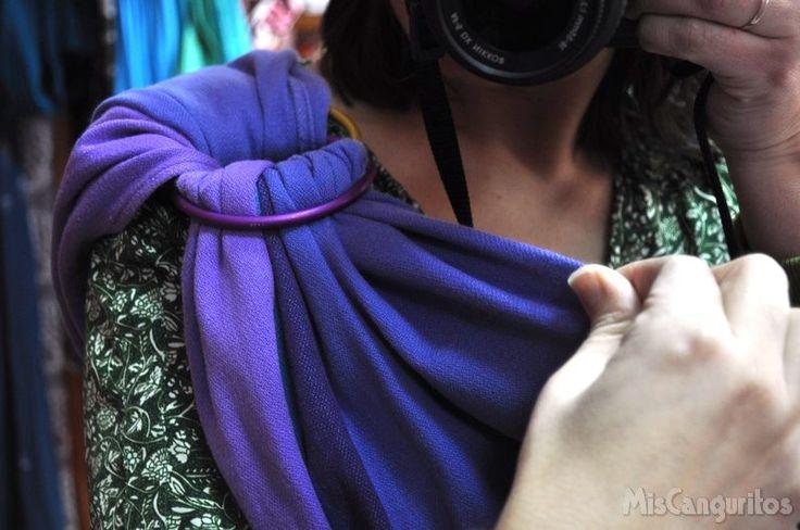 10 trucos para colocar correctamente la bandolera de anilllas | Blog Mis Canguritos