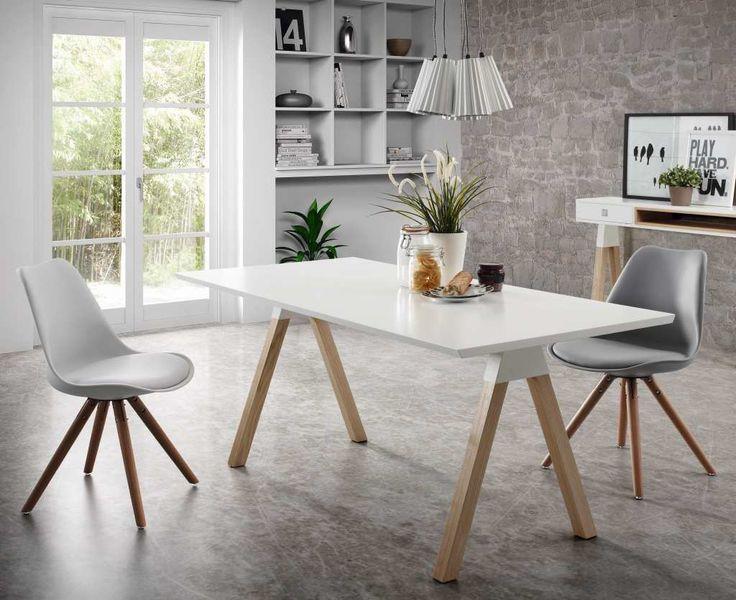 Białe meble w stylu skandynawskim rozświetlają współczesne wnętrza