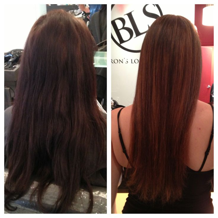 Brown Hair Highlights Before And After Before Amp After
