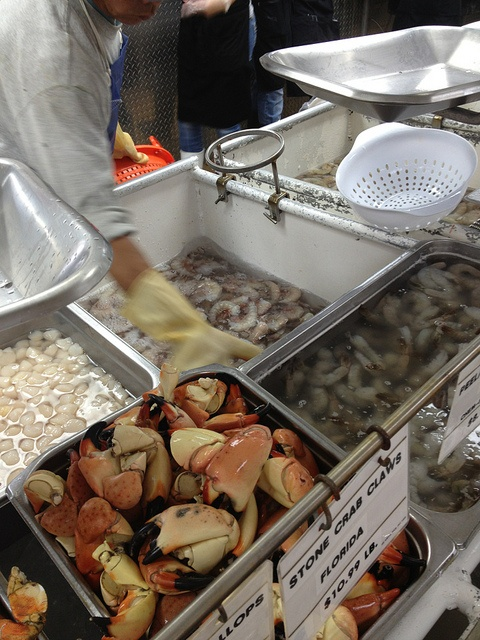 Joe Patti's Seafood market by Suzanne|You MadeThat?, via Flickr